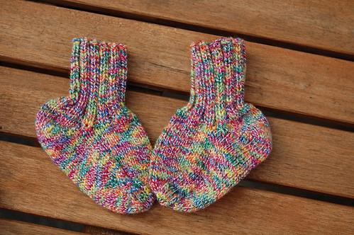 baby socks clown