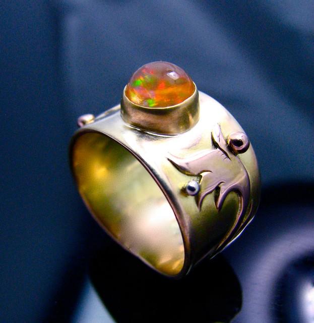 Fire Opal Ring Baldurs Gate