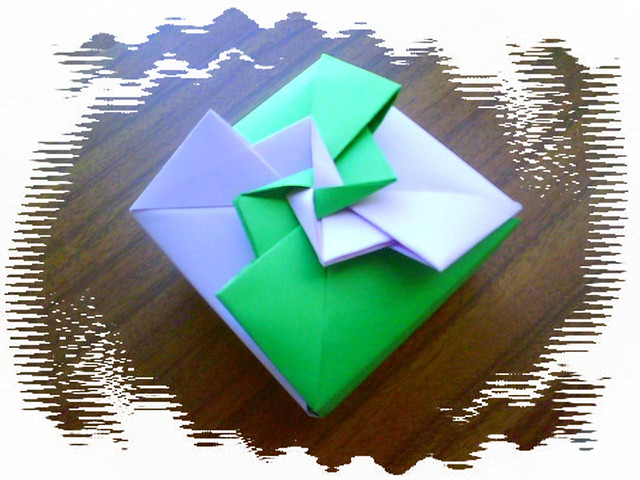 Origami box fancy pinwheel | Flickr - Photo Sharing! - photo#15