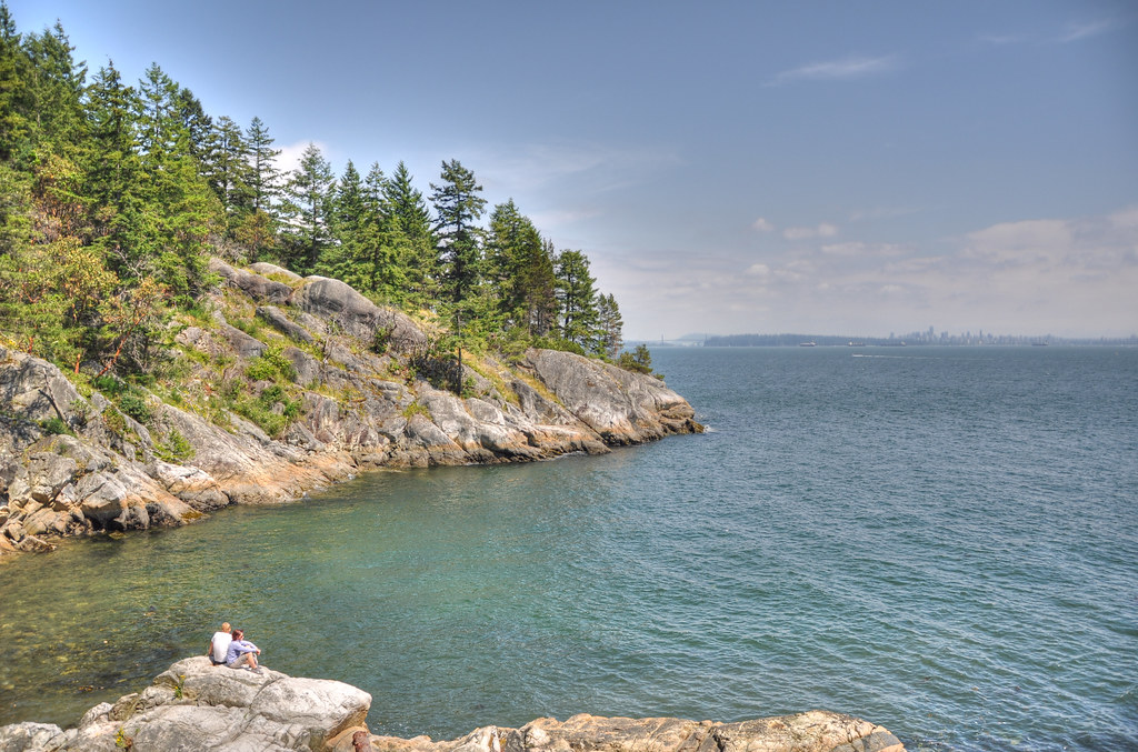 Starboat Cove in Lighthouse Park