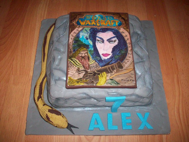 World of Warcraft cake | Flickr - Photo Sharing!