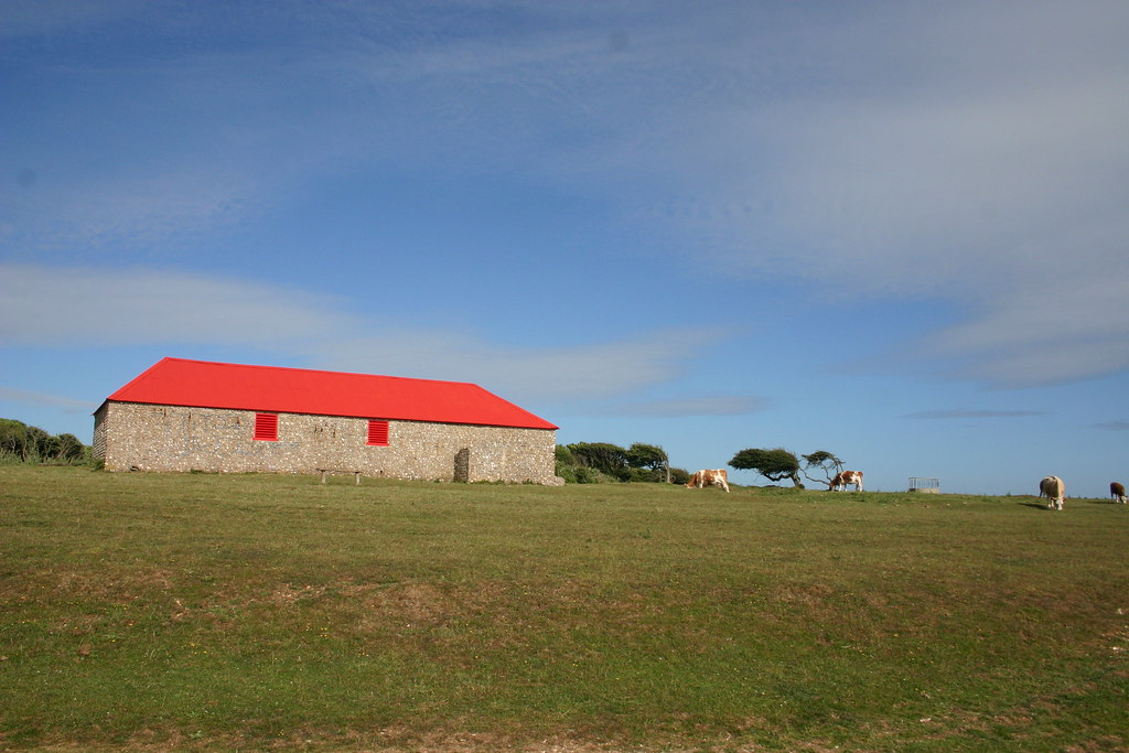 Bright Orange Barn