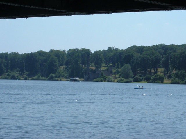 Vista del lago Wansee, Potsdam