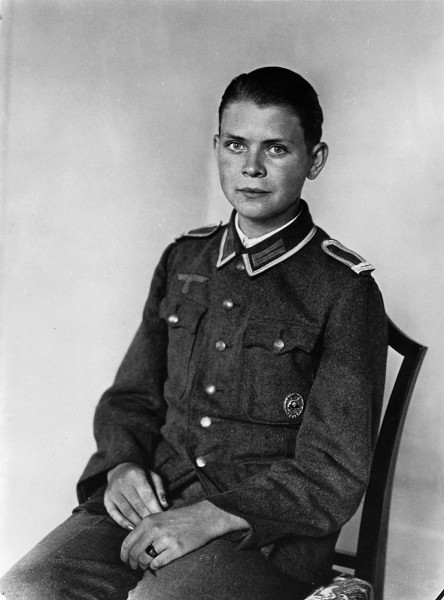 Officer cadet, by August Sander ca. 1940