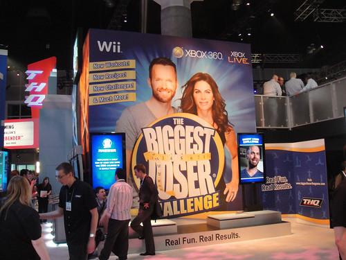E3 2010 THQ Biggest Loser booth
