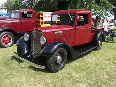 automobile, ford model a, vehicle, truck, classic car, vintage car, land vehicle, motor vehicle,