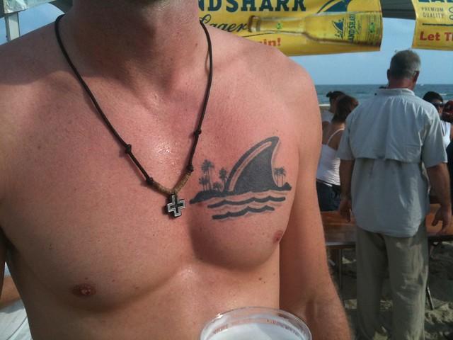 Landshark tattoo! | Flickr - Photo Sharing!