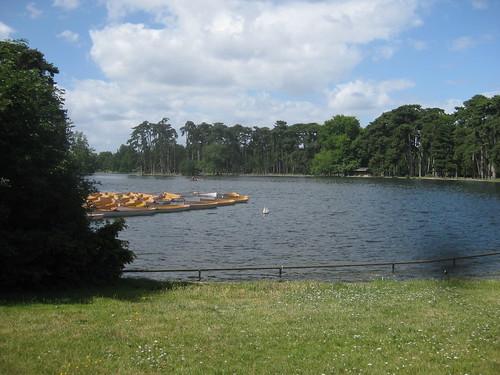Lac Inferieur in Bois de Boulogne