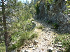 Le sentier de Caprunale