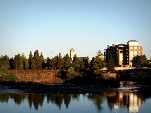 sunrise spokane downtown spokanewa spokaneriver downtownspokane spokanecounty 99201