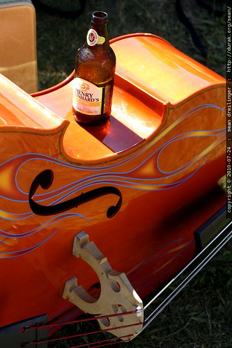 beer on a bass