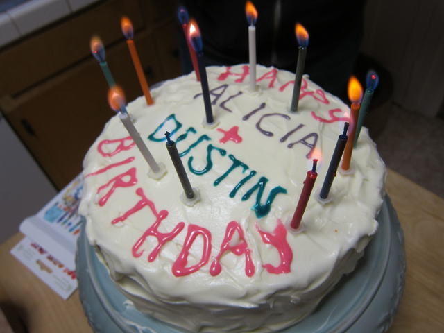 Happy Birthday Alicia Amp Dustin Cake Flickr Photo Sharing