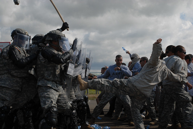 Riot Control Training from Flickr via Wylio