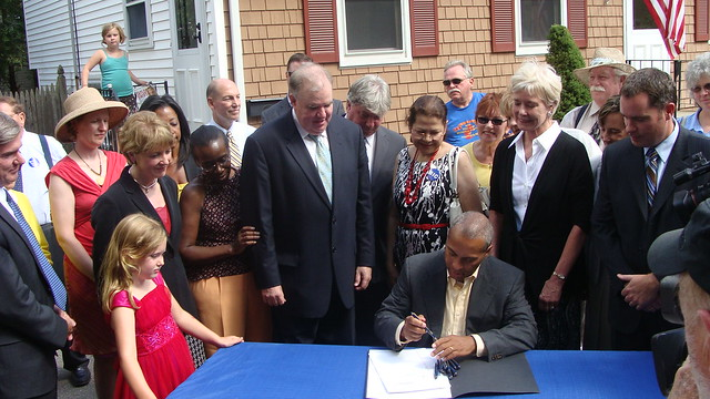 An Act Relative to Mortgage Foreclosures Bill Signing: August 2010