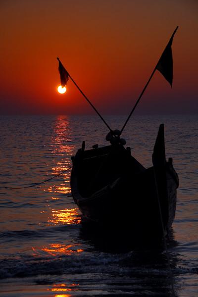 Sunrise at Saint Martin's Island