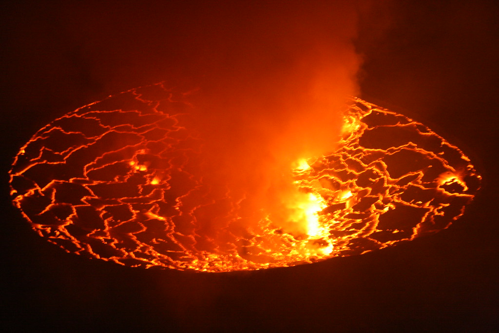 An Oval of Lava