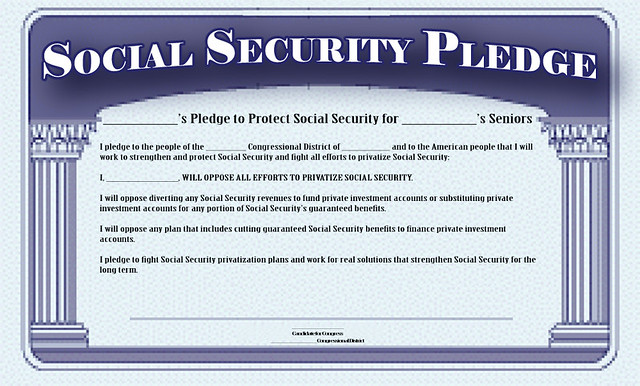 Social Security Pledge