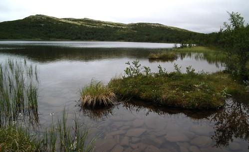 het kleine meertje Ranglartjern