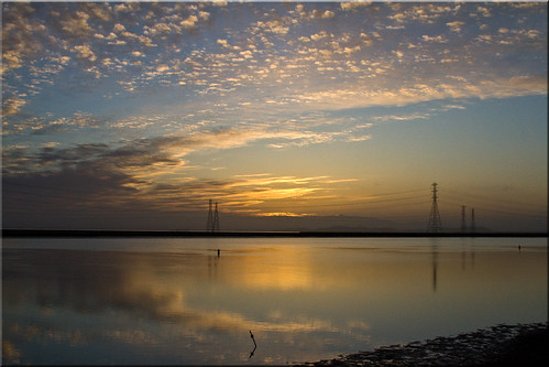 city sunrise day power cloudy solstice 100views redwood pylons slough westpoint 2453