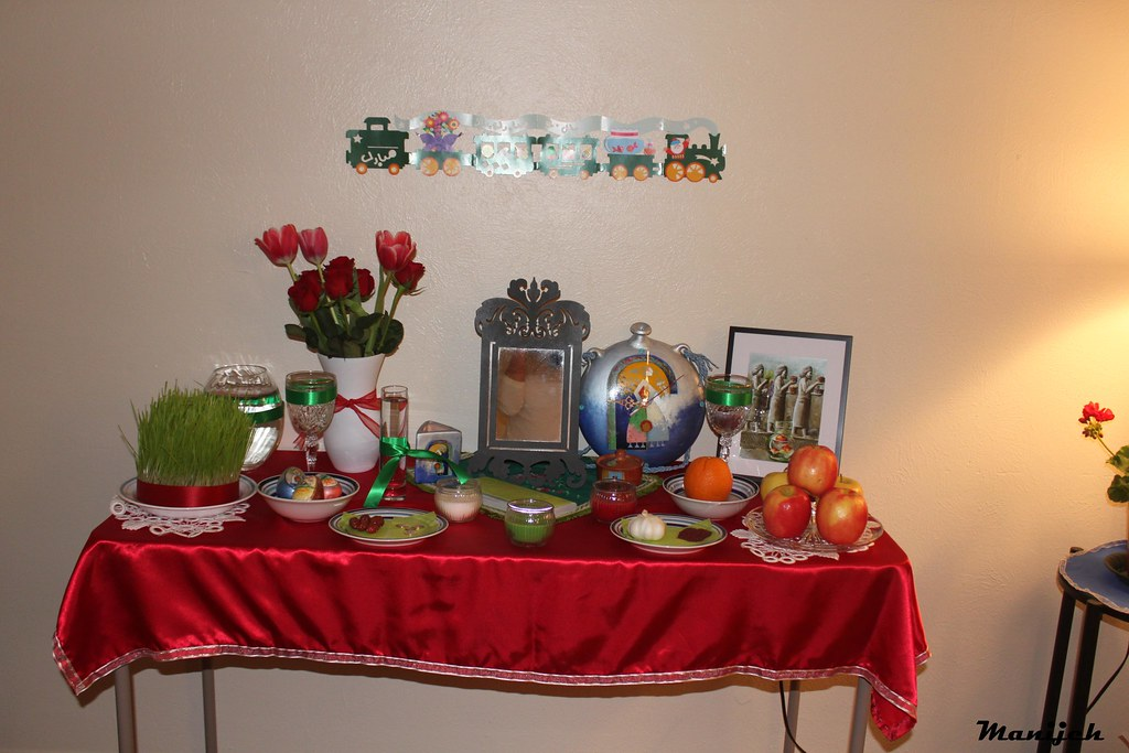 سفره هفت سین سنتی96 سفره هفت سین نوروز ٢٥٦٩ (١٣٨٩), My Haft-Seen Table for Nowruz 2569(1389) - a photo on Flickriver