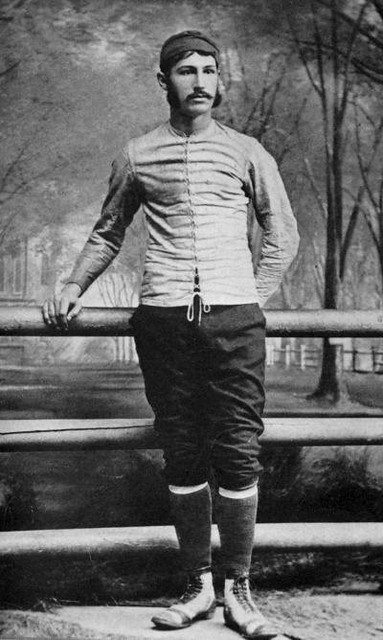 Walter Camp, inventor of American football as Yale rugby captain 1878-9