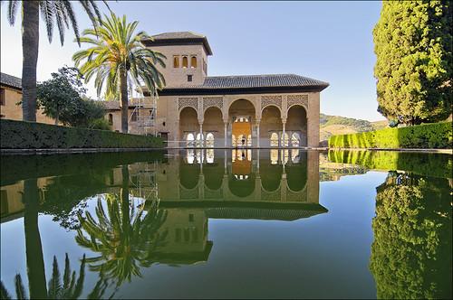 Torre de las damas jardines del partal alhambra for Jardines de gomerez granada