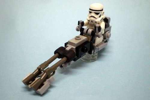 Medium Speeder Bike, High Mobility
