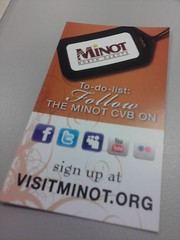 Shout out to Minot CVB for social media!