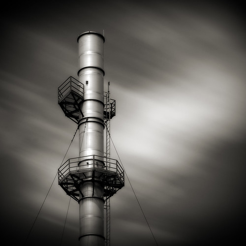 longexposure blackandwhite industry square industrial nd110