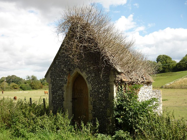 Small medieval chapel near the church of St Peter & St Paul in Ospringe, Kent