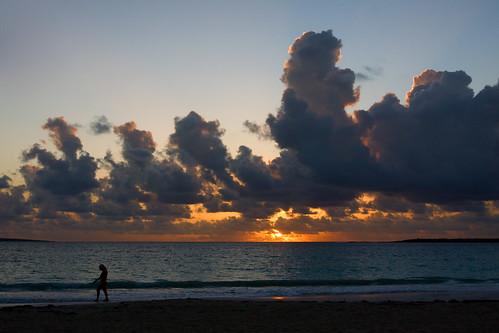 ocean sunset beach sunrise stmartin caribbean stmaartin