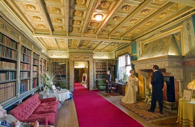 Warwick Castle Interior 1, Warwick UK.