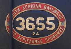 Locomotive no 3655 at Fish Hoek Station