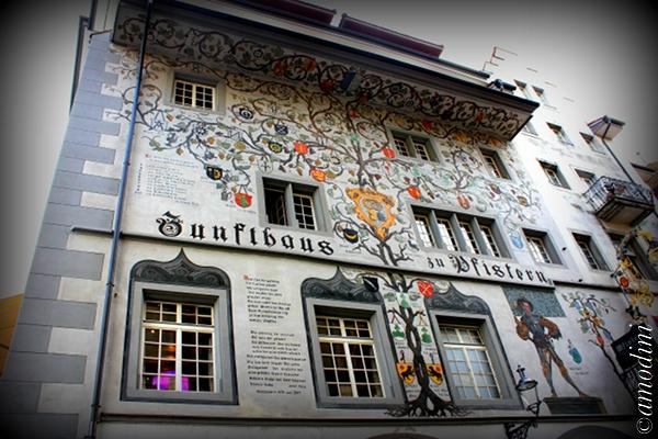Zunfthaus Pfistern restaurant, Lucerne