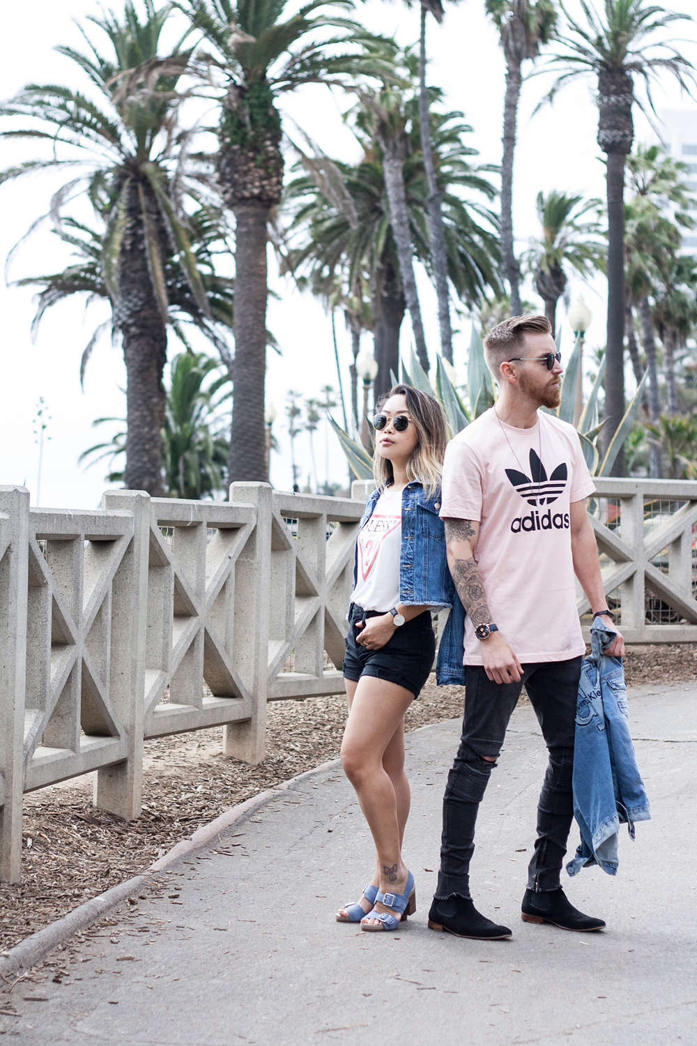 07pacsun-hisandhers-denim-guess-adidas-santamonica-la-travel-fashion-style