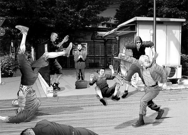 inuyashiki entre animes e mangás