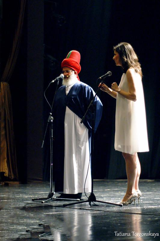 Выступление Мустафы Озбага