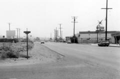 Irvine Blvd at Holt Ave., Tustin, circa 1966-1967