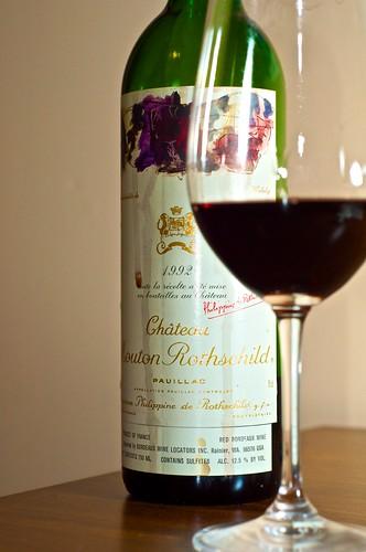 1992 Château Mouton Rothschild