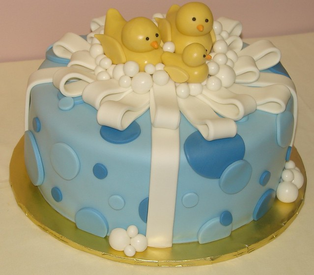 Rubber Duck Baby Shower Cakes http://www.flickr.com/photos/jmccustomcakes/4744801708/