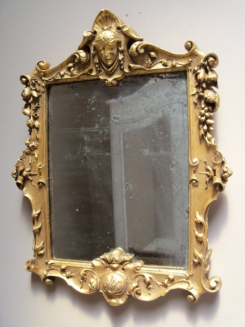 French Antique Gilded Decorative Mirror Flickr Photo