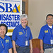 SBA Disaster Team in Grand Isle