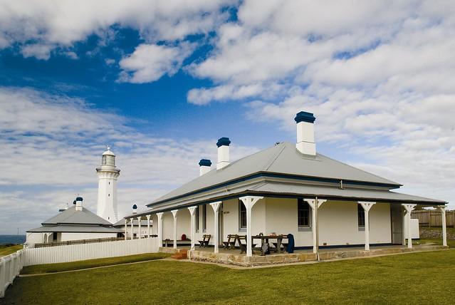Green Cape lighthouse complex