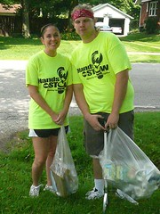 Our litter-picker-uppers