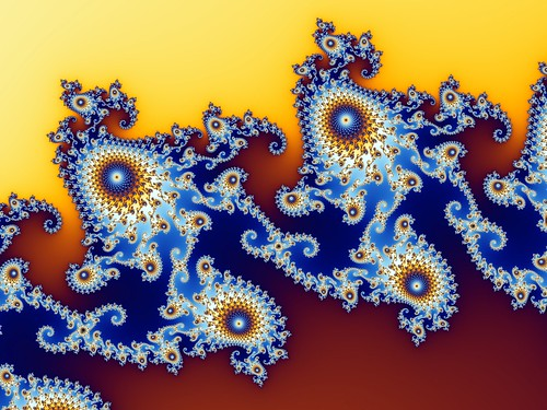 Mandelbrot set - Step 5 of a zoom sequence