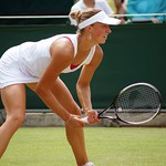 Yanina Wickmayer at Wimbledon