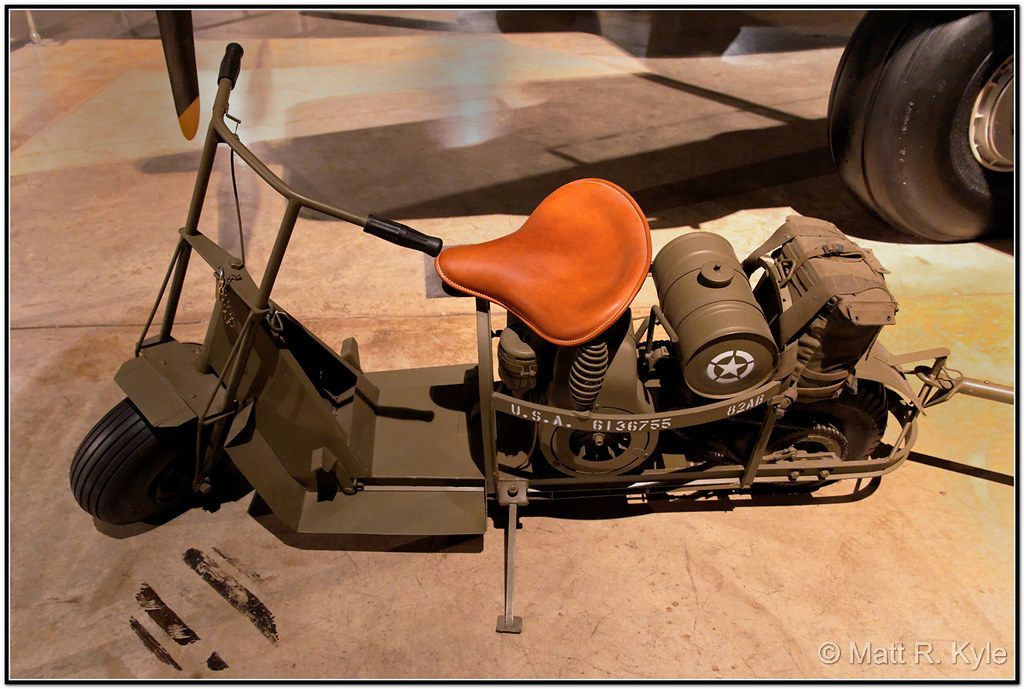 Cushman Airborne Scooter WP USAF Museum-301