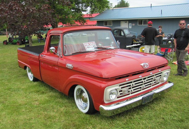 ford pick  custom cab
