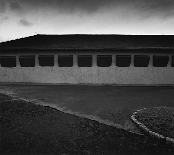 Detention Cells, Buchenwald, by MIchael Kenna 1994