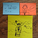 Found Art - Crazy post-it notes!